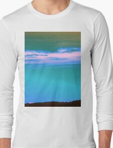 Blue Sky-Available As Art Prints-Mugs,Cases,Duvets,T Shirts,Stickers,etc Long Sleeve T-Shirt