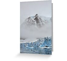 The Magnificent Iced Continent Greeting Card