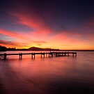 Lake Rotorua Sunset by Michael Treloar
