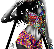 Sexy Girl Looking For Paradise  by peaceloveunity