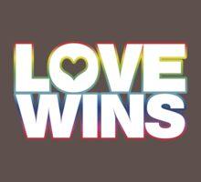 LOVE WINS One Piece - Short Sleeve