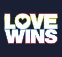 LOVE WINS Kids Tee