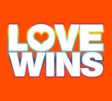 LOVE WINS Kids Clothes