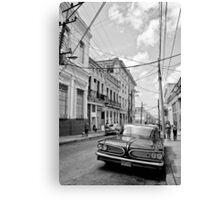 Cuban mood Canvas Print
