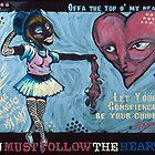 U Must Follow the Heart by Rik V. Livingston as Zono Art