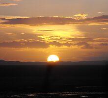 Sunset by Agnieszka Jarecka