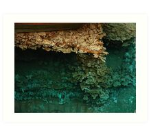 Tranquility in Turquoise Art Print