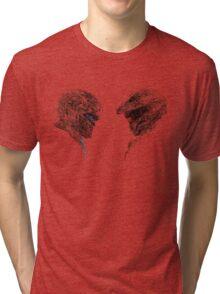 Halo 5 art Tri-blend T-Shirt