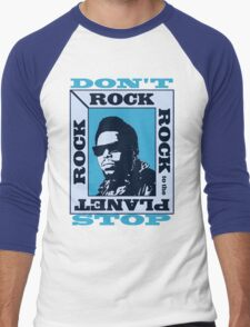Afrika Bambaataa- Planet Rock Men's Baseball ¾ T-Shirt