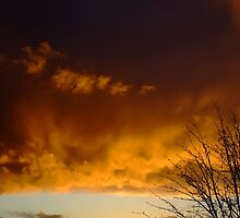 Stormy Sunset by Dave Tunstall