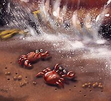 Friendly Crabs by Matt Katz
