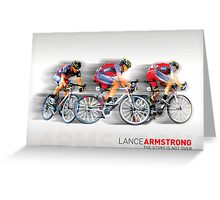Lance Armstrong 2010 Greeting Card