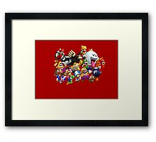 It's-a me, Mario! ... or not?  Framed Print