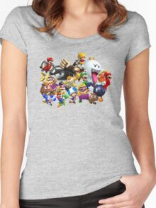 It's-a me, Mario! ... or not?  Women's Fitted Scoop T-Shirt