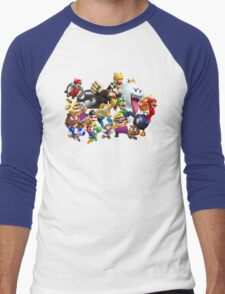 It's-a me, Mario! ... or not?  Men's Baseball ¾ T-Shirt