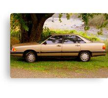 """1987 Audi 5000S"" Canvas Print"