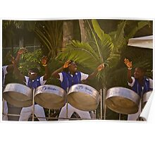 Steel Drum Feeling Poster