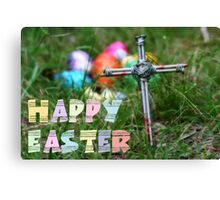 Easter Postcard Canvas Print