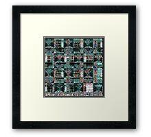 Spectral Dimension Framed Print