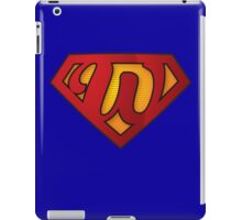 Super W iPad Case/Skin