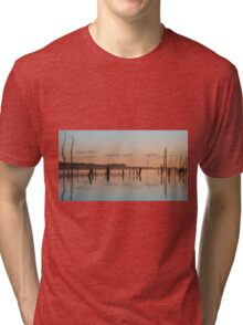 Pink and Blue Skies Tri-blend T-Shirt