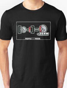Brake Calipers + Paint = 25kw (for dark shirts) Unisex T-Shirt