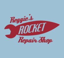 Reggie's Rocket repair shop