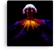 Incensed - A New Perspective on Orchid Life Canvas Print