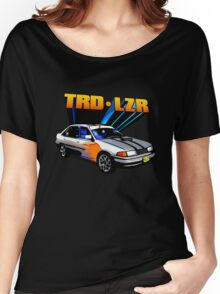 TRD Laser - 80's Style Bright Colour Women's Relaxed Fit T-Shirt