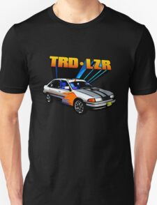 TRD Laser - 80's Style Bright Colour T-Shirt