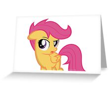Scootaloo Greeting Card