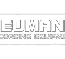 Neumann Recording Equipment  Sticker
