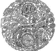 Knot work Yin and Yang by Windsmane