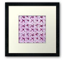 Mrs. Robinson Pattern Framed Print
