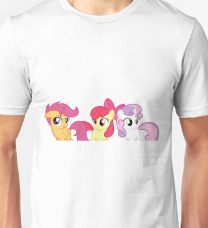 Cutie Mark Crusaders Unisex T-Shirt