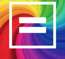 Rainbow Equality Sticker