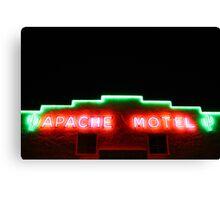 Neon Hotel Full Canvas Print