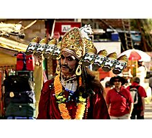 Hindu Devotee Photographic Print