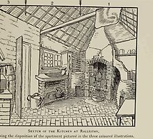 Kate Greenaway Collection 1905 0047 Sketch of Kitchen at Rolleston by wetdryvac