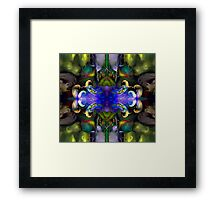 Embryonic Journey (Art & Poetry) Framed Print