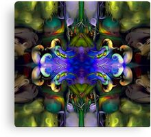Embryonic Journey (Art & Poetry) Canvas Print