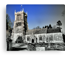 St Andrews Church- East Lulworth Canvas Print