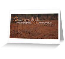 Tangled Webs © 05 Greeting Card