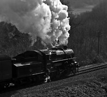 """LMS 2-6-0 Class 4MT no. 43106 """"The Flying Pig"""" by Steve  Liptrot"""