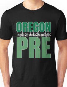 Steve Prefontaine Legend Dark shirt Unisex T-Shirt