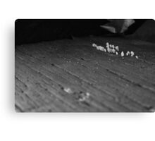 BW Threshold  Canvas Print