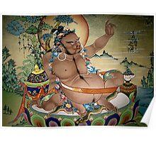 virupa. wall painting, northern india Poster