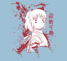 Spirited Ink Scroll Chihiro Baby Tee