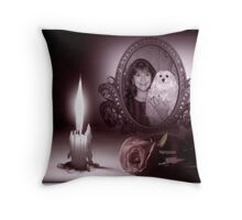 Me & My Shadow Throw Pillow