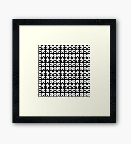 Skulls Framed Print
